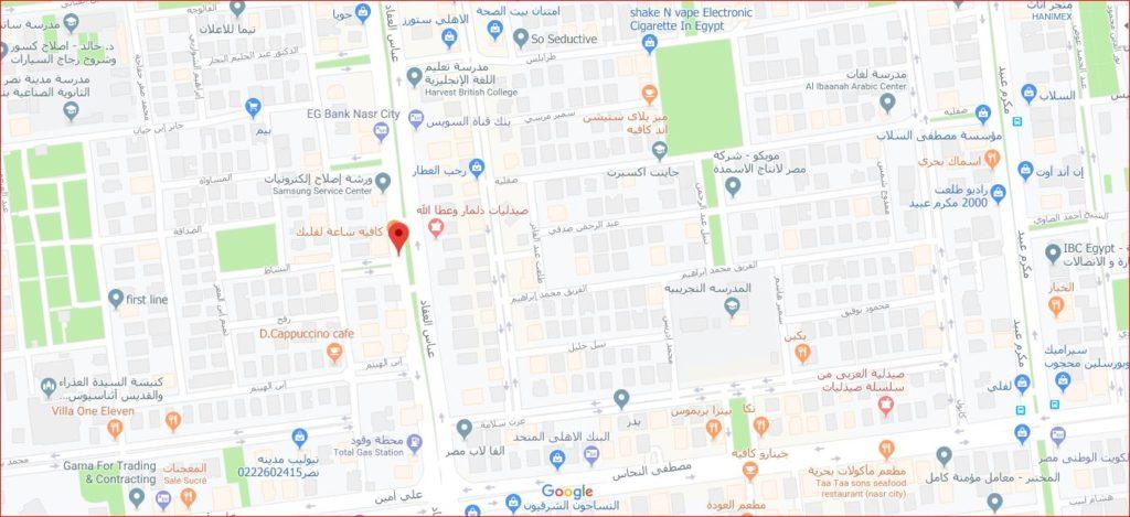 مدينة نصر خريطة